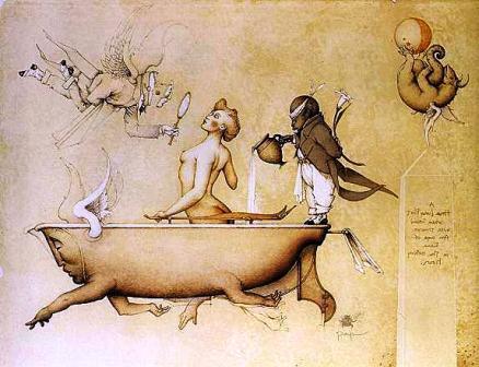 Бегущая ванна. Майкл Паркес