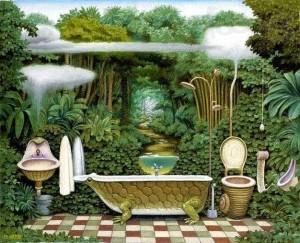ванная комната как искуство