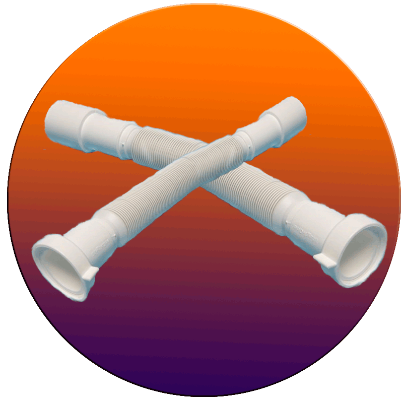 Замена трубы гофрированнойе